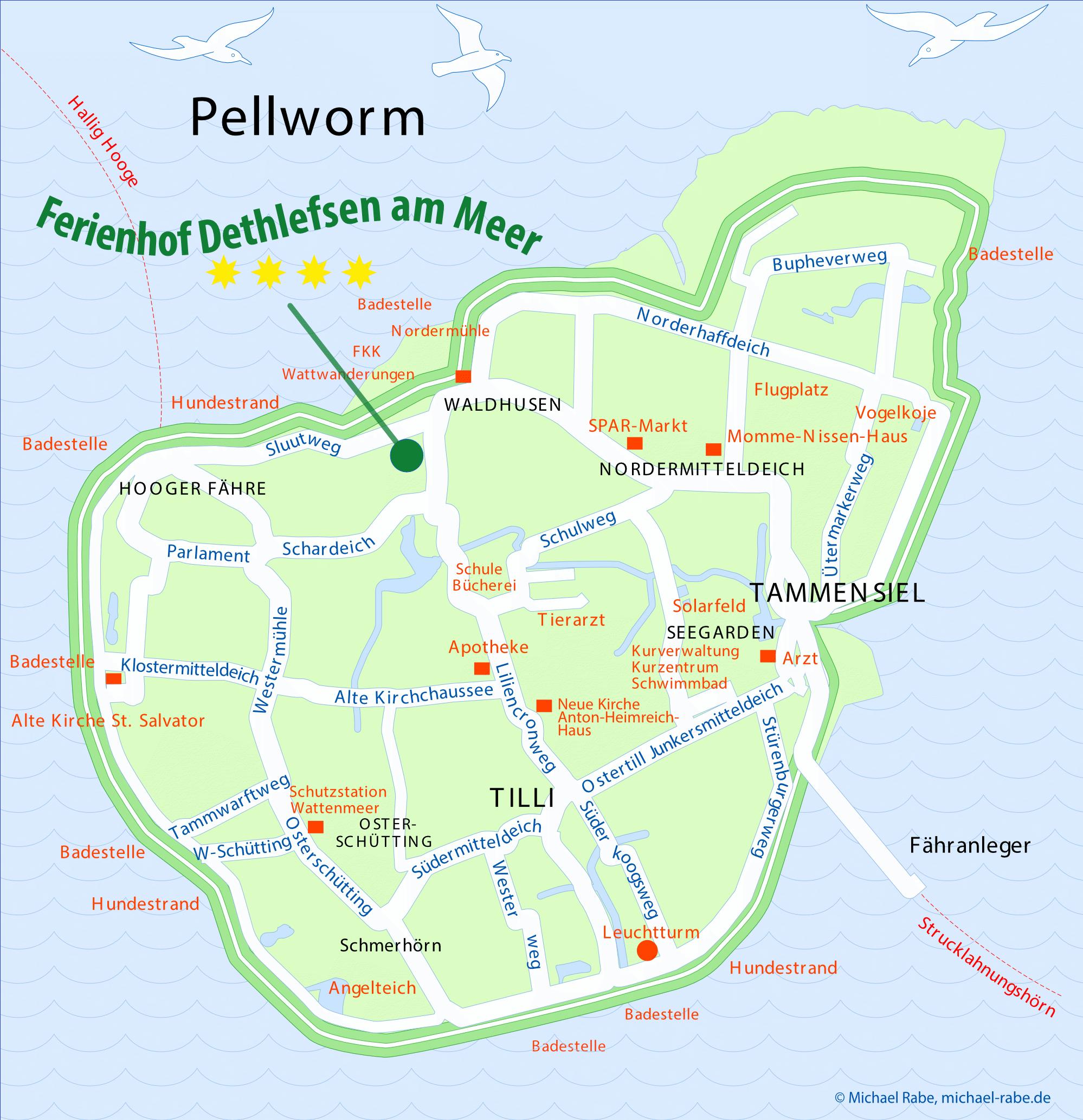 Pellworm Karte.Ferienhof Dethlefsen Am Meer Ferien Auf Pellworm Urlaub